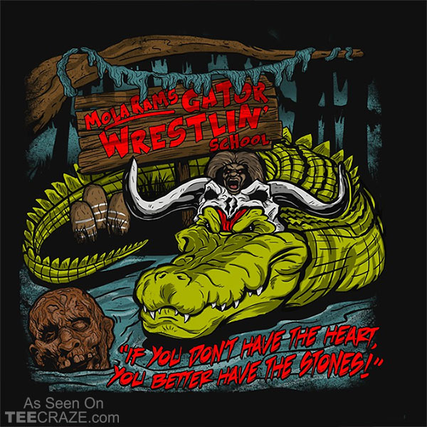 Mola Ram's Gator Wrestlin' School T-Shirt