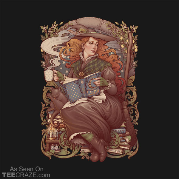 Nouveau Folk Witch T-Shirt