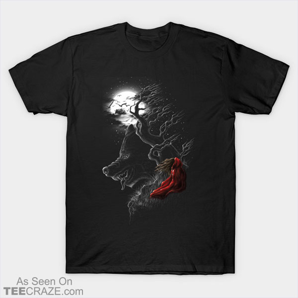 Red Walking Misfits T-Shirt