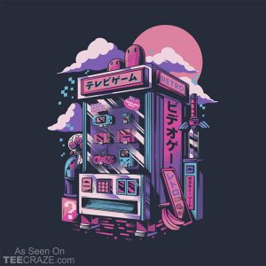 Retro Gaming Machine T-Shirt