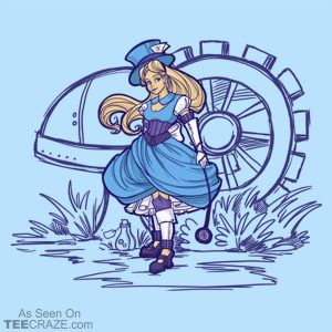 Steampunk Alice T-Shirt