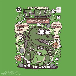 The Incredible T-Rex T-Shirt