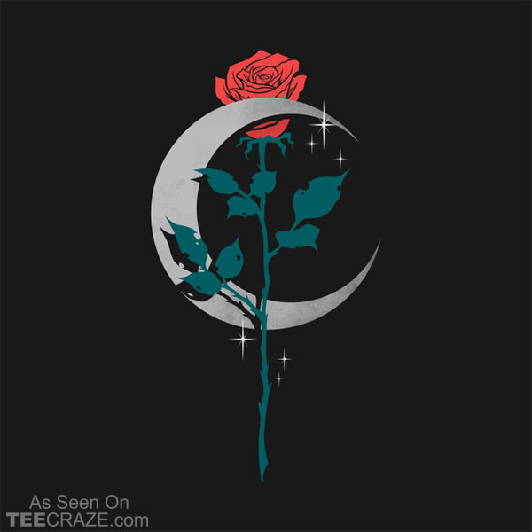Moon Rose T-Shirt