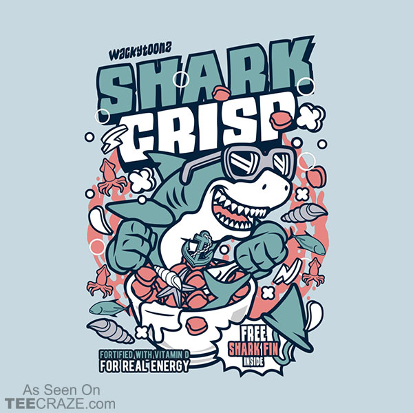 Shark Crisp Cereal T-Shirt