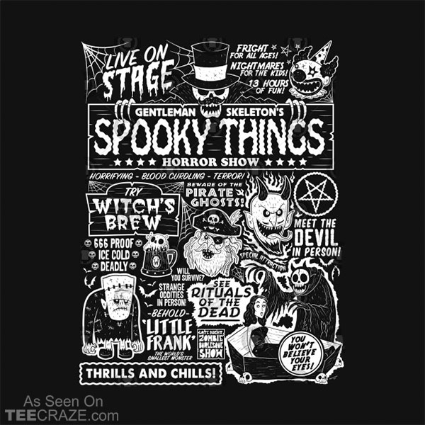 Spooky Things II T-Shirt