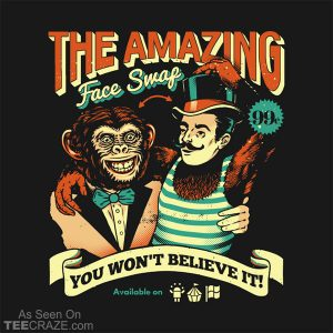 The Amazing Face Swap T-Shirt