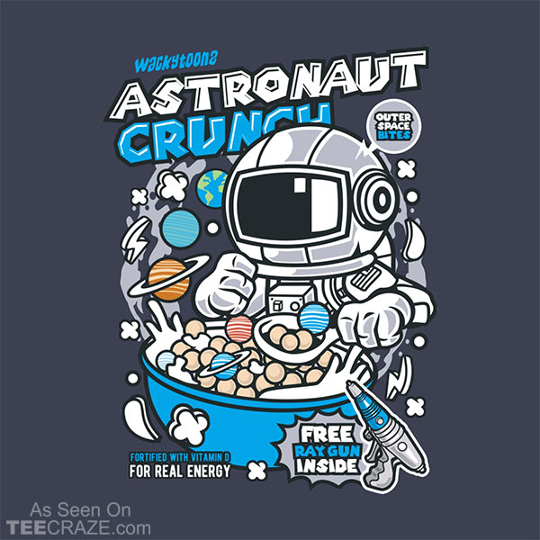Astronaut Crunch Cereal T-Shirt