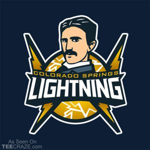 Colorado Springs Lightning T-Shirt