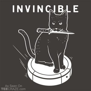 Invincible Cat T-Shirt