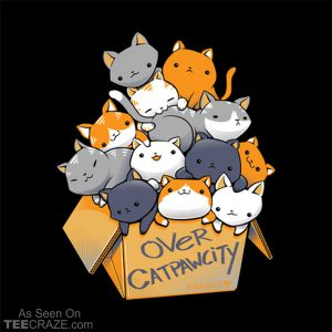 Over Catpawcity T-Shirt