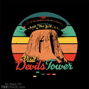 Visit Devils Tower T-Shirt