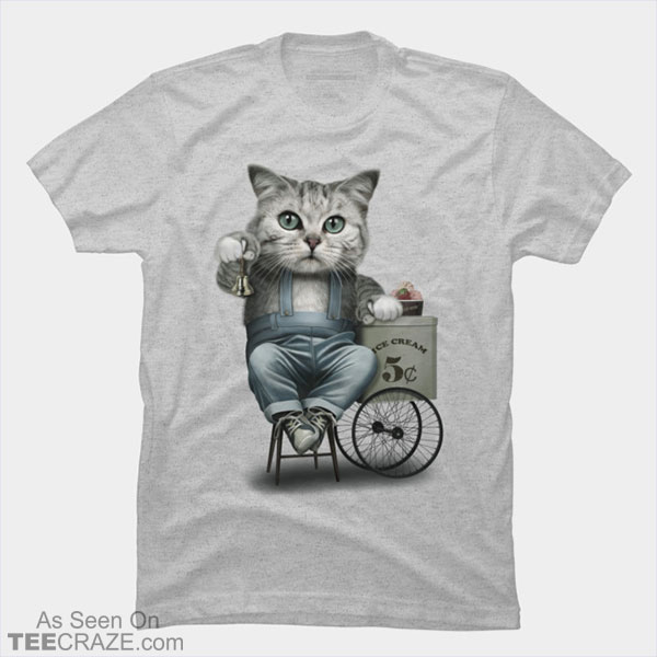 Ice Cream Seller T-Shirt