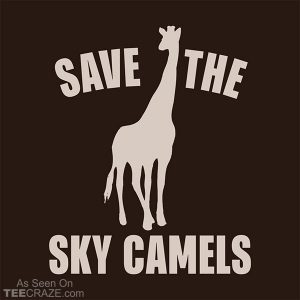 Save The Sky Camels T-Shirt