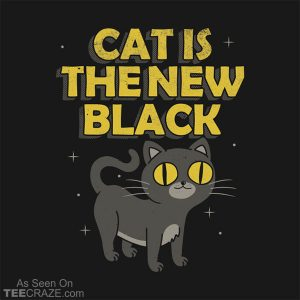 Cat Is The New Black T-Shirt