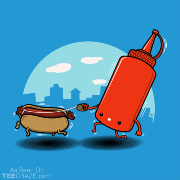 Hot Dog Pet T-Shirt