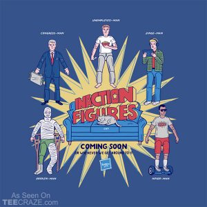 Inaction Figures T-Shirt