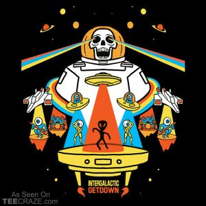 Intergalactic Get Down T-Shirt