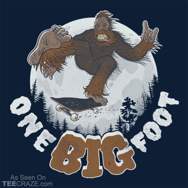 One Big Foot T-Shirt