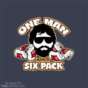 One Man And A Six Pack T-Shirt