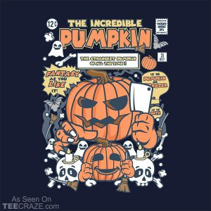 The Incredible Pumpkin T-Shirt