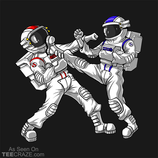 Astronaut Karate T-Shirt