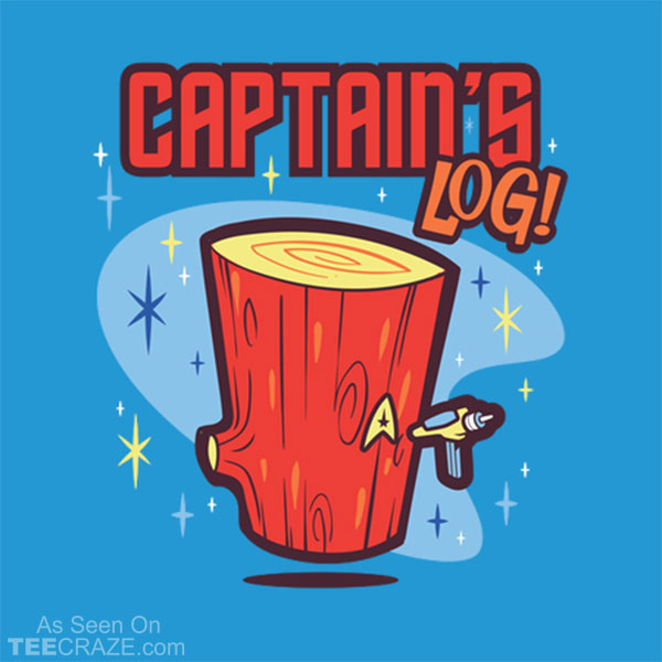 Captain's Log T-Shirt