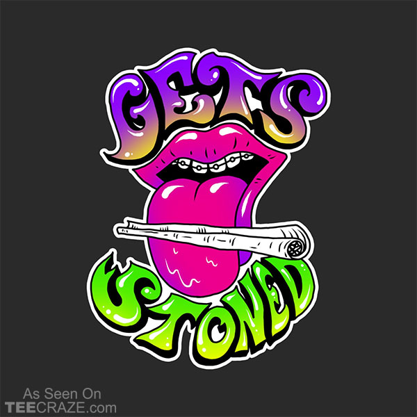 Gets Stoned T-Shirt