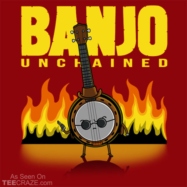 Banjo Unchained T-Shirt