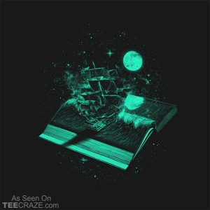 Crossing The Rough Sea Of Knowledge T-Shirt