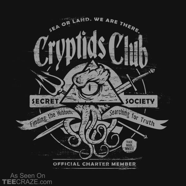 Cryptids Club T-Shirt