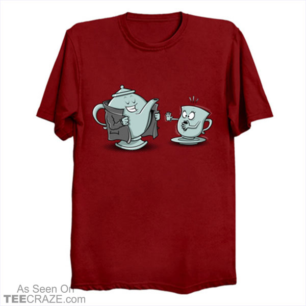 Exhibitionist Teapot T-Shirt
