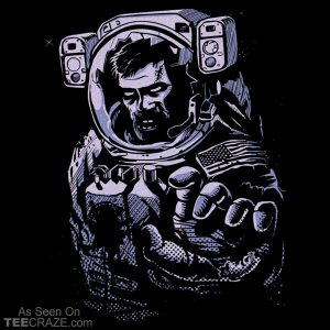 Houston, We Have A Zombie T-Shirt