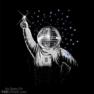 Houston, We Have Disco Fever T-Shirt