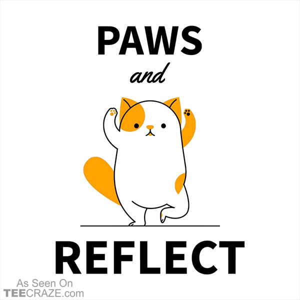 Paws And Reflect T-Shirt