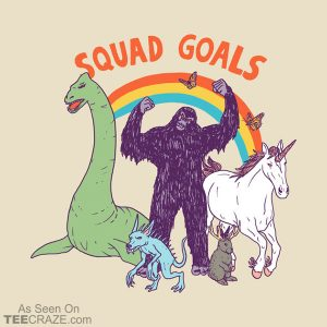 Squad Goals: Cryptids T-Shirt