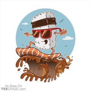Sushi Surfer T-Shirt