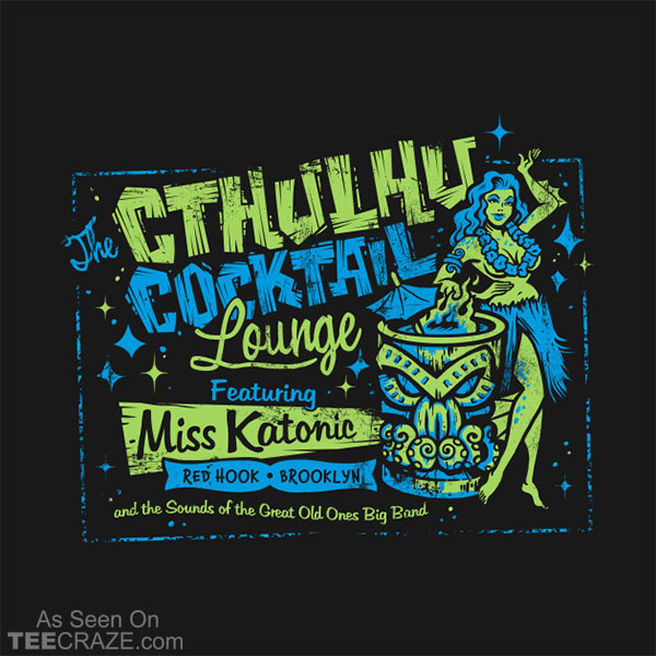 Cthulhu Cocktail Lounge T-Shirt