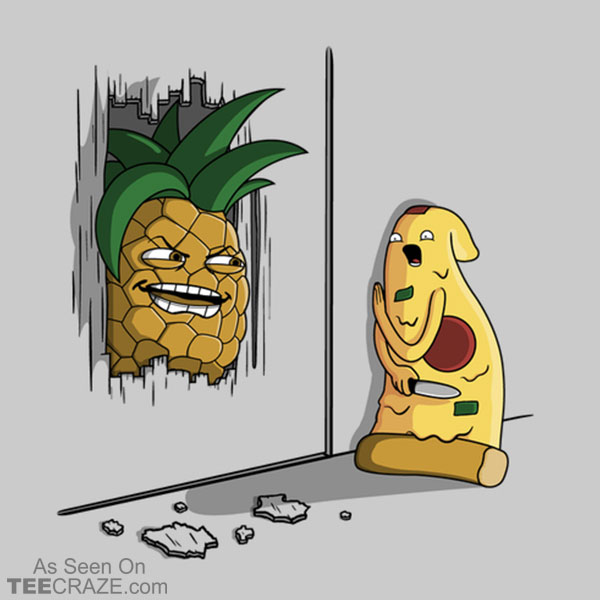 Here's Pineapple T-Shirt