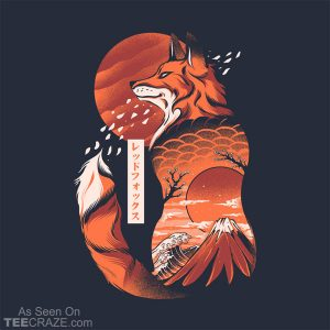 Japanese Fox T-Shirt