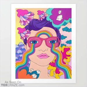 Lucy In The Sky With Diamonds Art Print