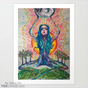 Mamma Earth Art Print