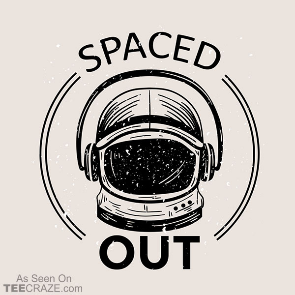 Spaced Out Astronaut T-Shirt
