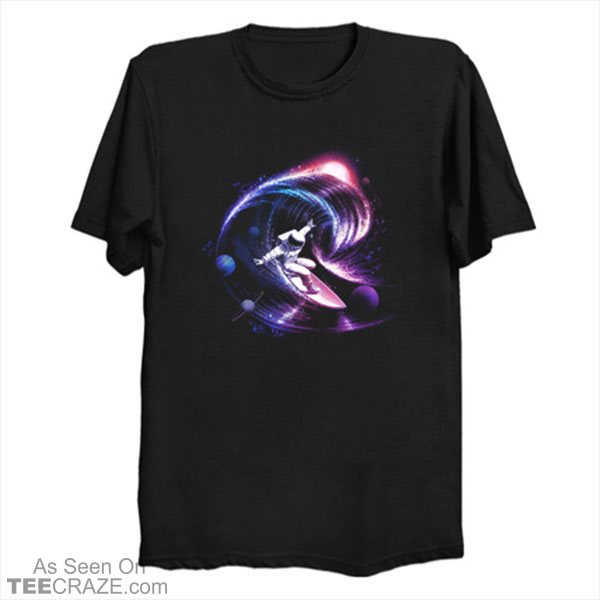 Surfing The Universe Gravity T-Shirt