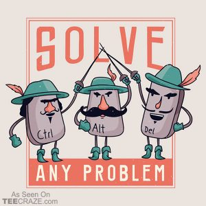 Solve Any Problem T-Shirt