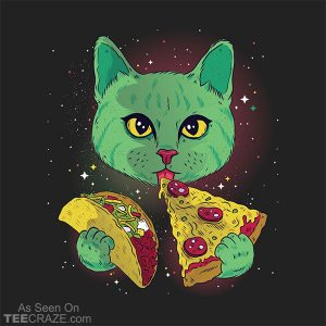 Taco Pizza Cat T-Shirt