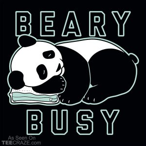 Beary Busy T-Shirt