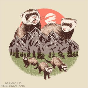 Mountain Ferrets T-Shirt