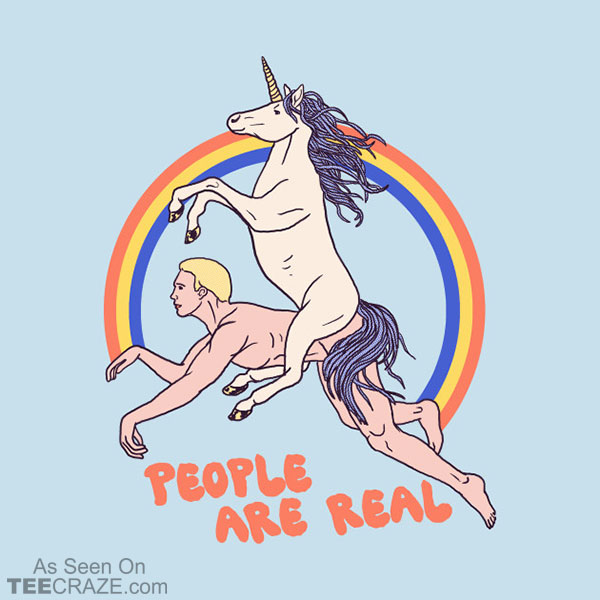 People Are Real T-Shirt