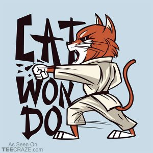 Cat Won Do T-Shirt