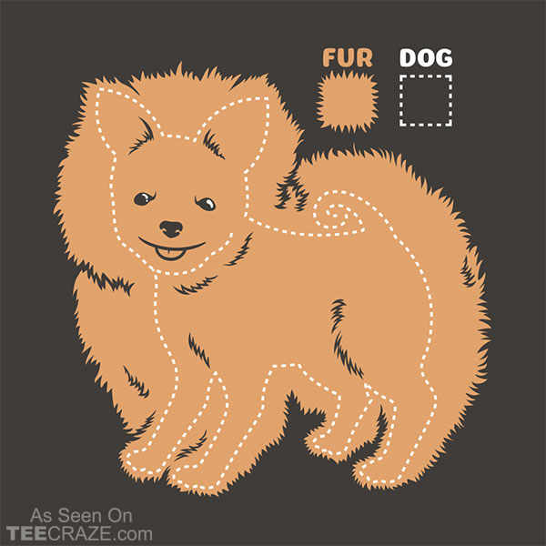 Dog vs Fur Pomeranian T-Shirt
